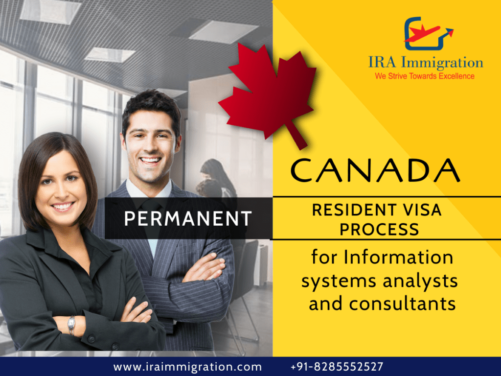Canada PR Visa process for Information systems analysts and consultants