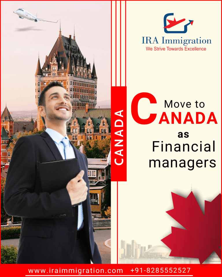 Move to Canada as Financial managers